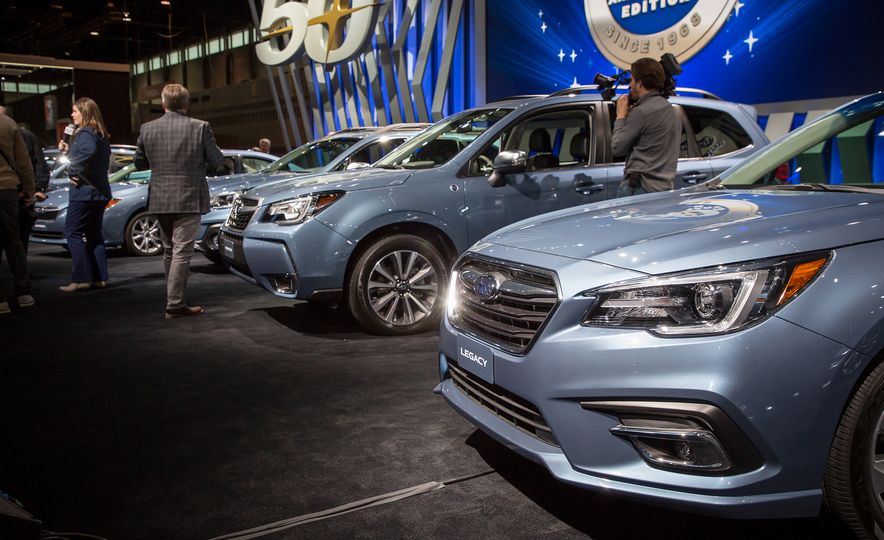 Blue Brand Group: Limited-Edition Subarus Celebrate 50 Years of U.S. Sales - Slide 1