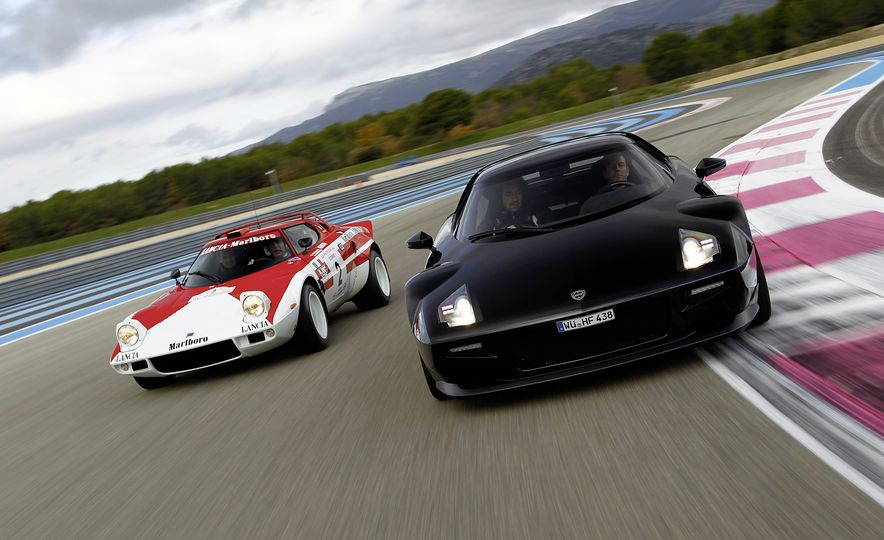 Original Lancia Stratos HF and New Stratos - Slide 1