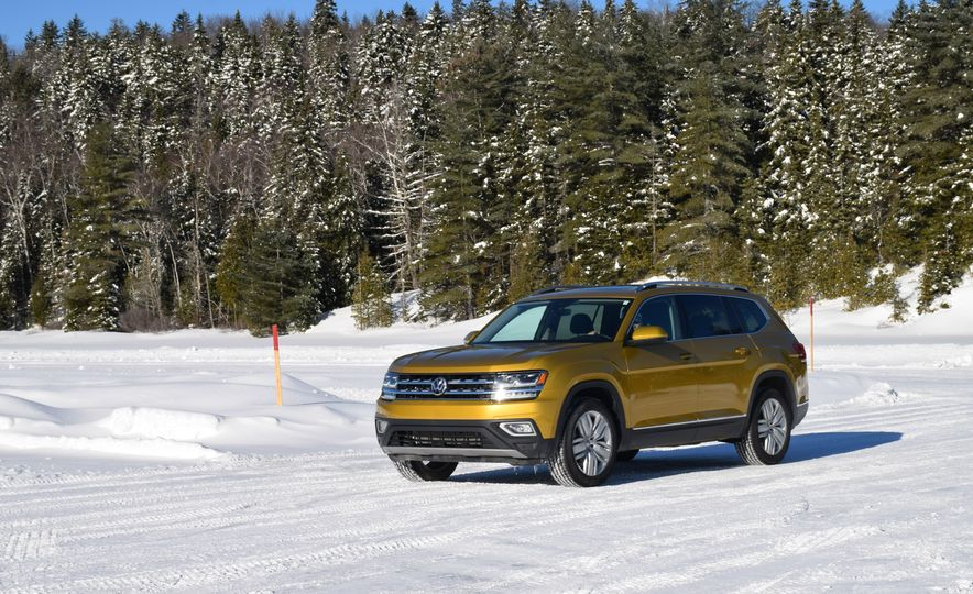 2018 Volkswagen Atlas, Tiguan, Golf Alltrack - Slide 9