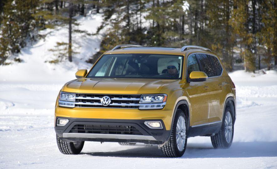 2018 Volkswagen Atlas, Tiguan, Golf Alltrack - Slide 10