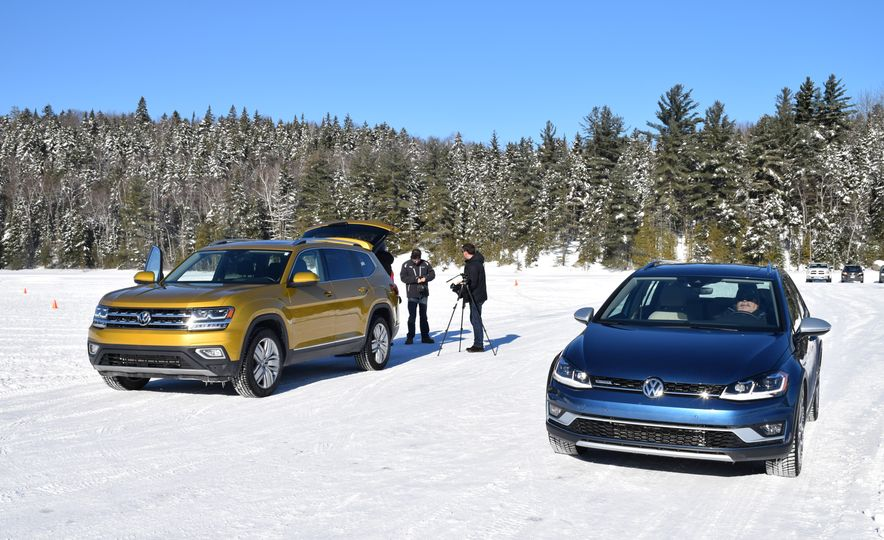 2018 Volkswagen Atlas, Tiguan, Golf Alltrack - Slide 12
