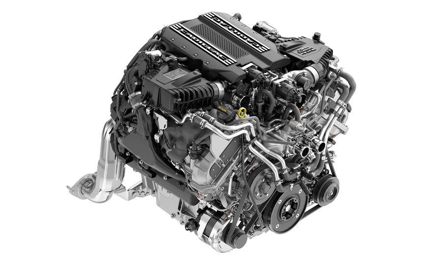 2019 Cadillac CT6 V-Sport twin-turbocharged 4.2-liter V-8 engine - Slide 1