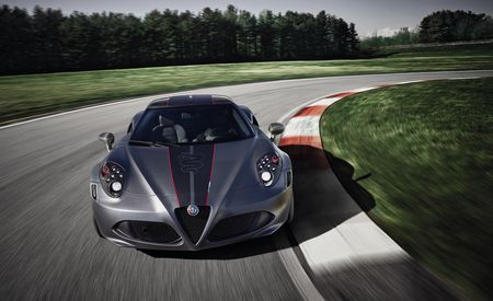 Alfa Romeo Debuts 4C Competizione and Italia Limited Editions