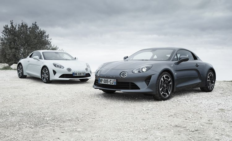 Renault Shows New Alpine A110 Pure and Legende Editions, Reveals GT4 Racing Version