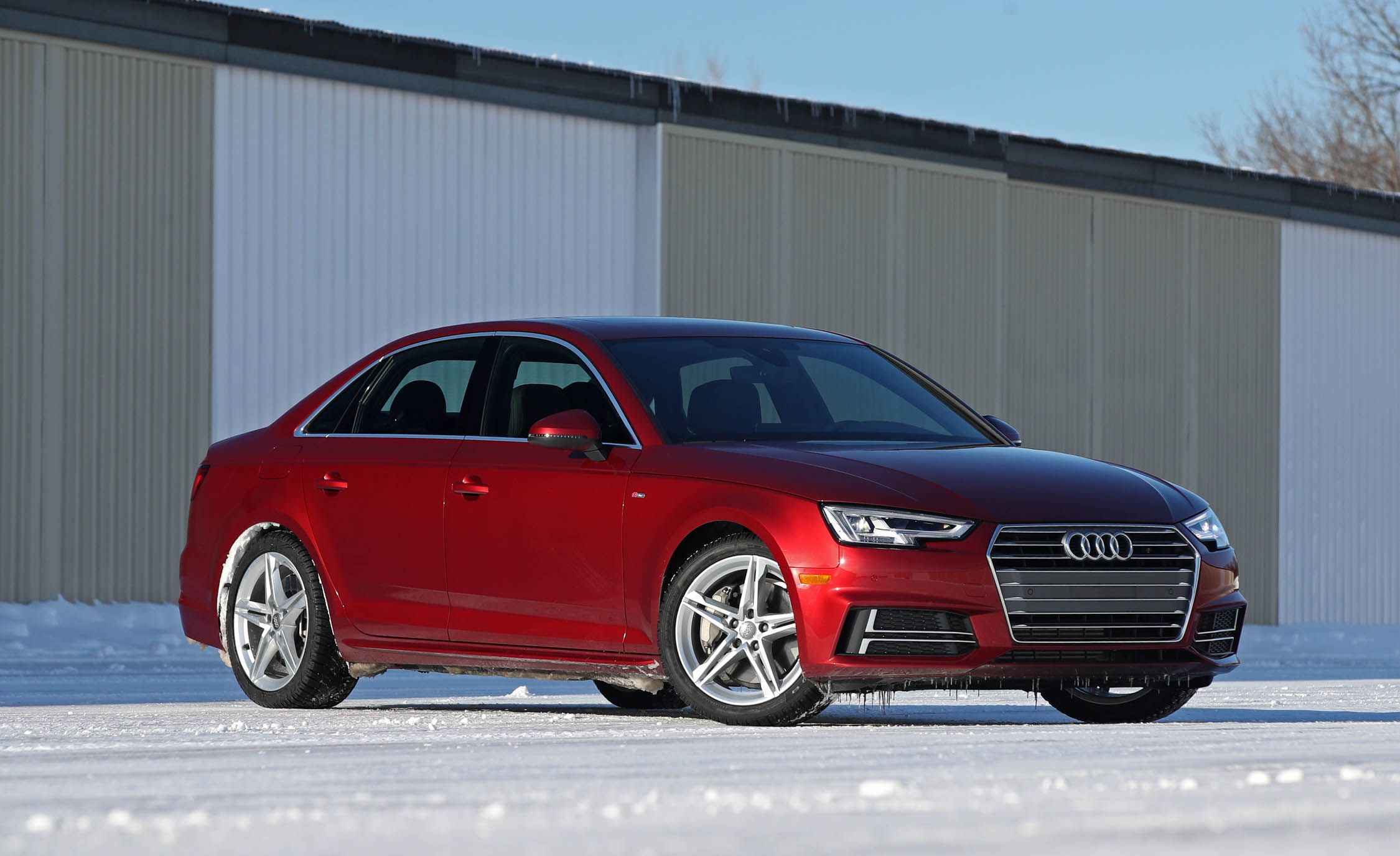 Audi A InDepth Model Review Car And Driver - 2018 audi a4 reliability