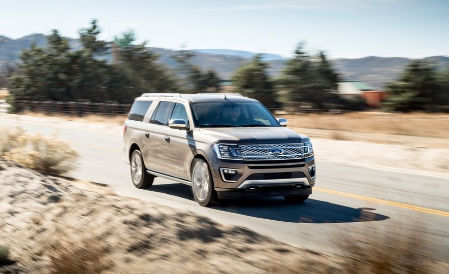 2018 Ford Expedition Max Platinum - Slide 1