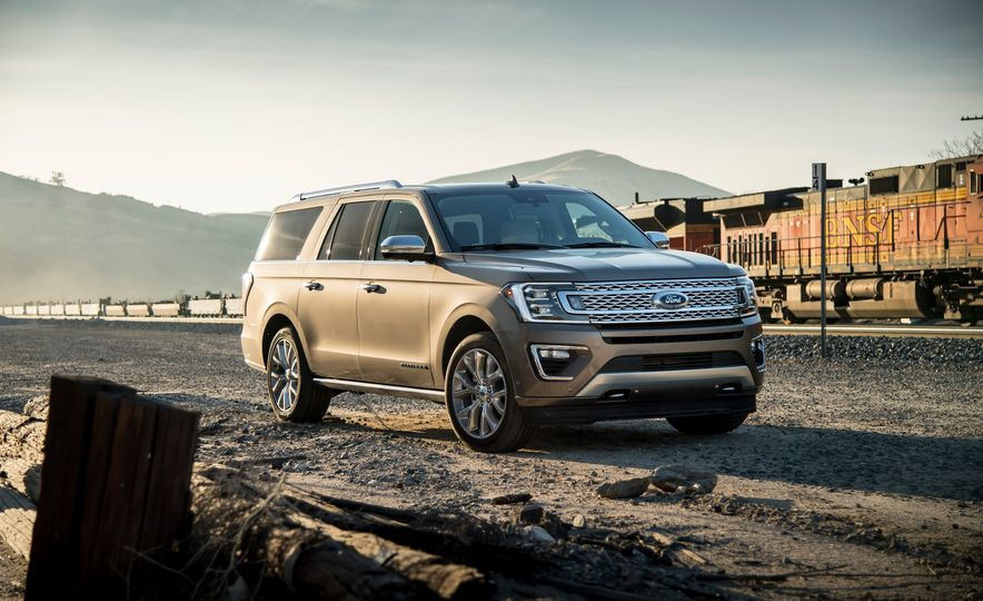 2018 Ford Expedition Max Platinum - Slide 7