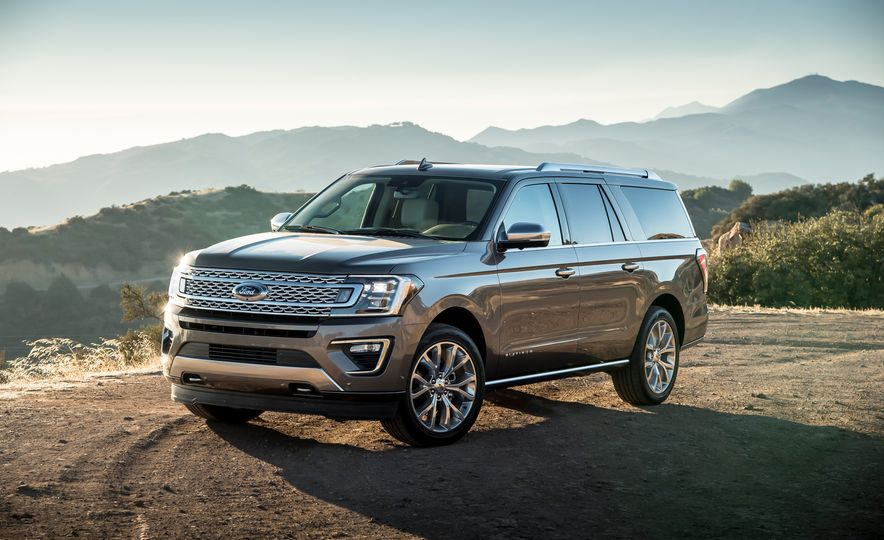 2018 Ford Expedition Max Platinum - Slide 8