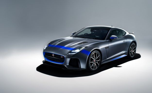 Jaguar Tats Up the F-type SVR With Decals and Stripes
