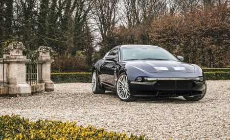 Touring Superleggera Sciadipersia Is a Rebodied Maserati GranTurismo