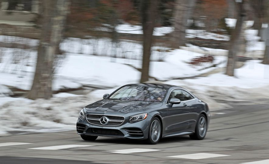 2018 Mercedes-Benz S560 4Matic coupe - Slide 2