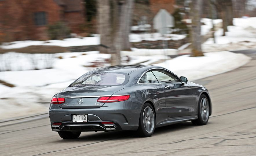 2018 Mercedes-Benz S560 4Matic coupe - Slide 5