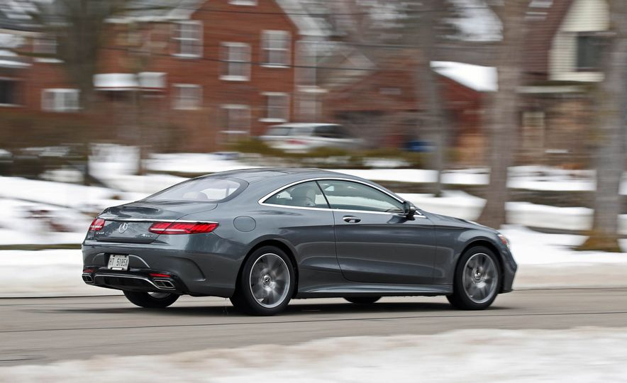 2018 Mercedes-Benz S560 4Matic coupe - Slide 6