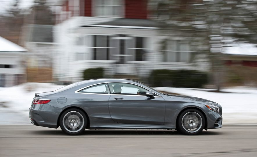 2018 Mercedes-Benz S560 4Matic coupe - Slide 7