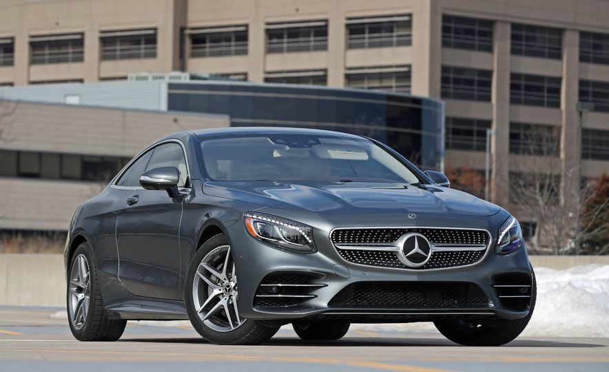 2018 Mercedes-Benz S560 4Matic coupe - Slide 9