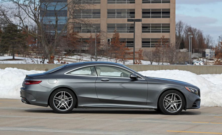 2018 Mercedes-Benz S560 4Matic coupe - Slide 10