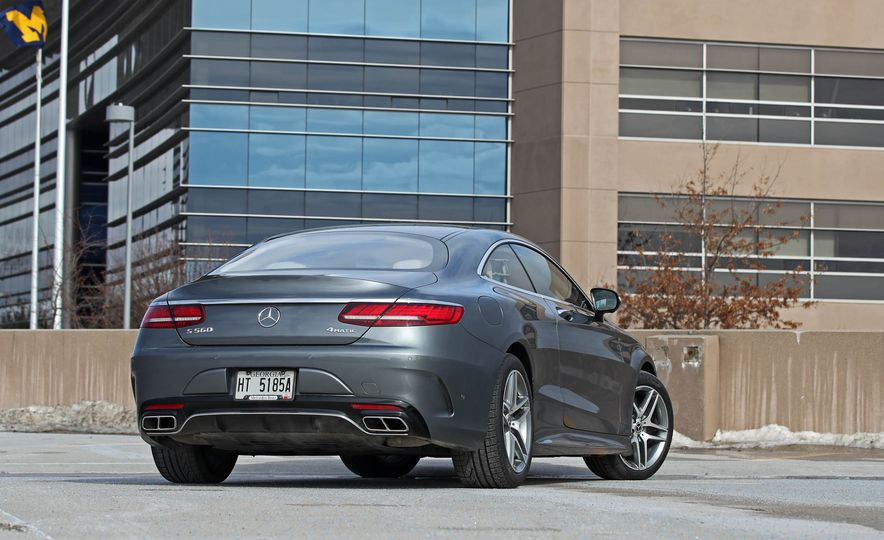2018 Mercedes-Benz S560 4Matic coupe - Slide 11