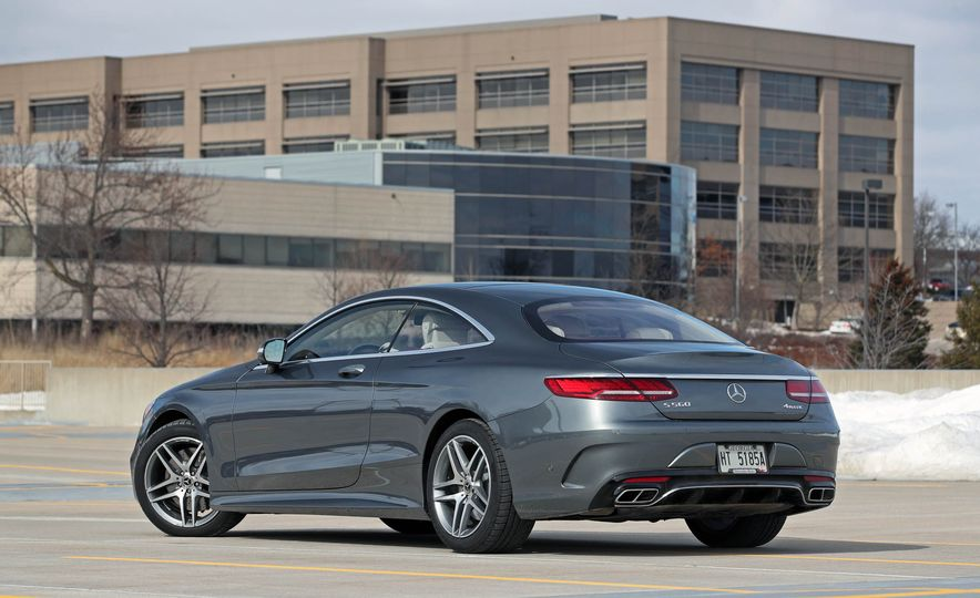 2018 Mercedes-Benz S560 4Matic coupe - Slide 12