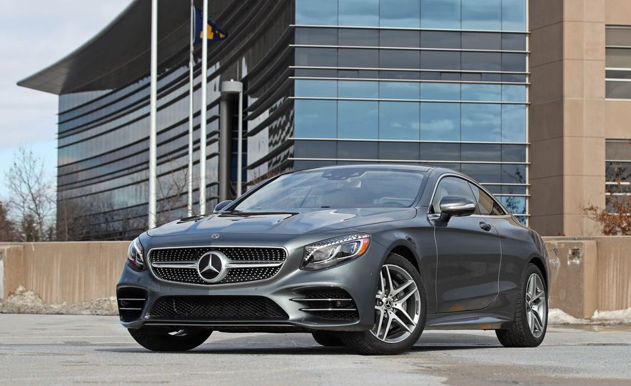 2018 Mercedes-Benz S560 4Matic coupe - Slide 13