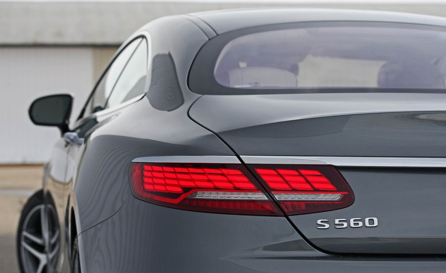 2018 Mercedes-Benz S560 4Matic coupe - Slide 21