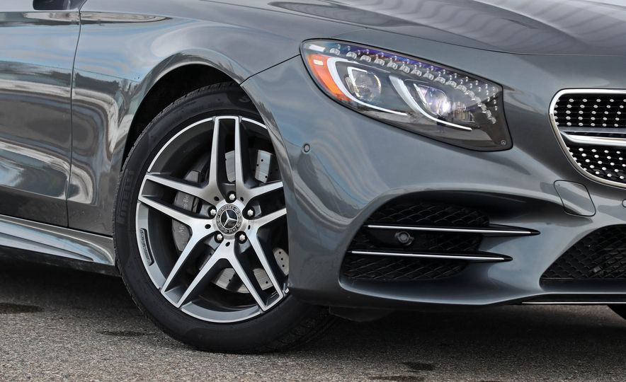 2018 Mercedes-Benz S560 4Matic coupe - Slide 27