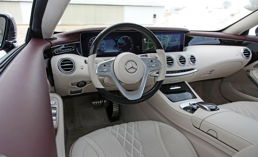 2018 Mercedes-Benz S560 4Matic coupe - Slide 31