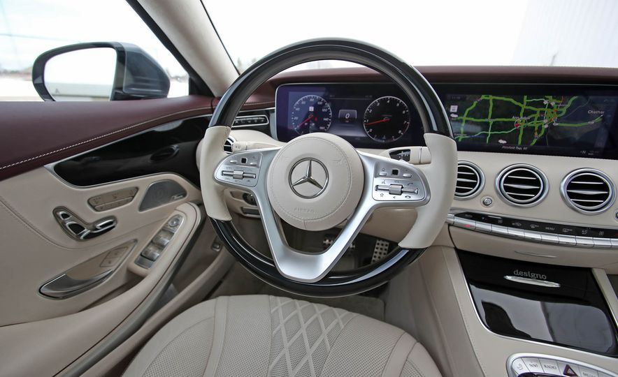 2018 Mercedes-Benz S560 4Matic coupe - Slide 32
