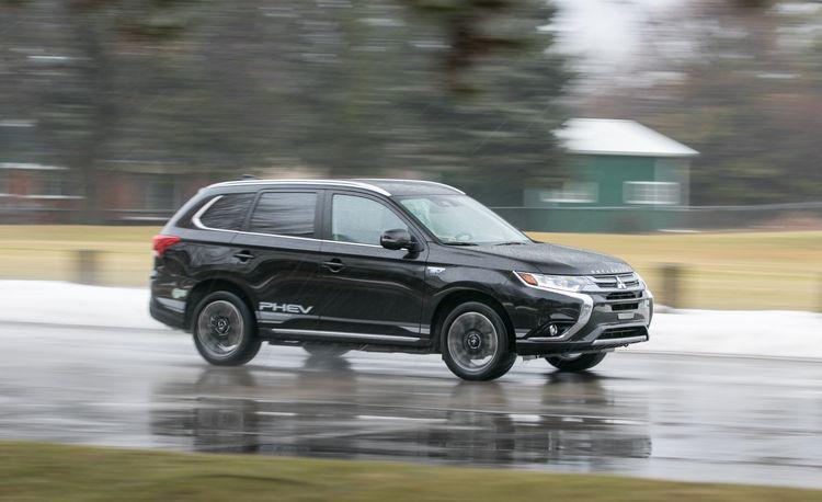 2018 Mitsubishi Outlander PHEV Plug-In Hybrid – Instrumented Test