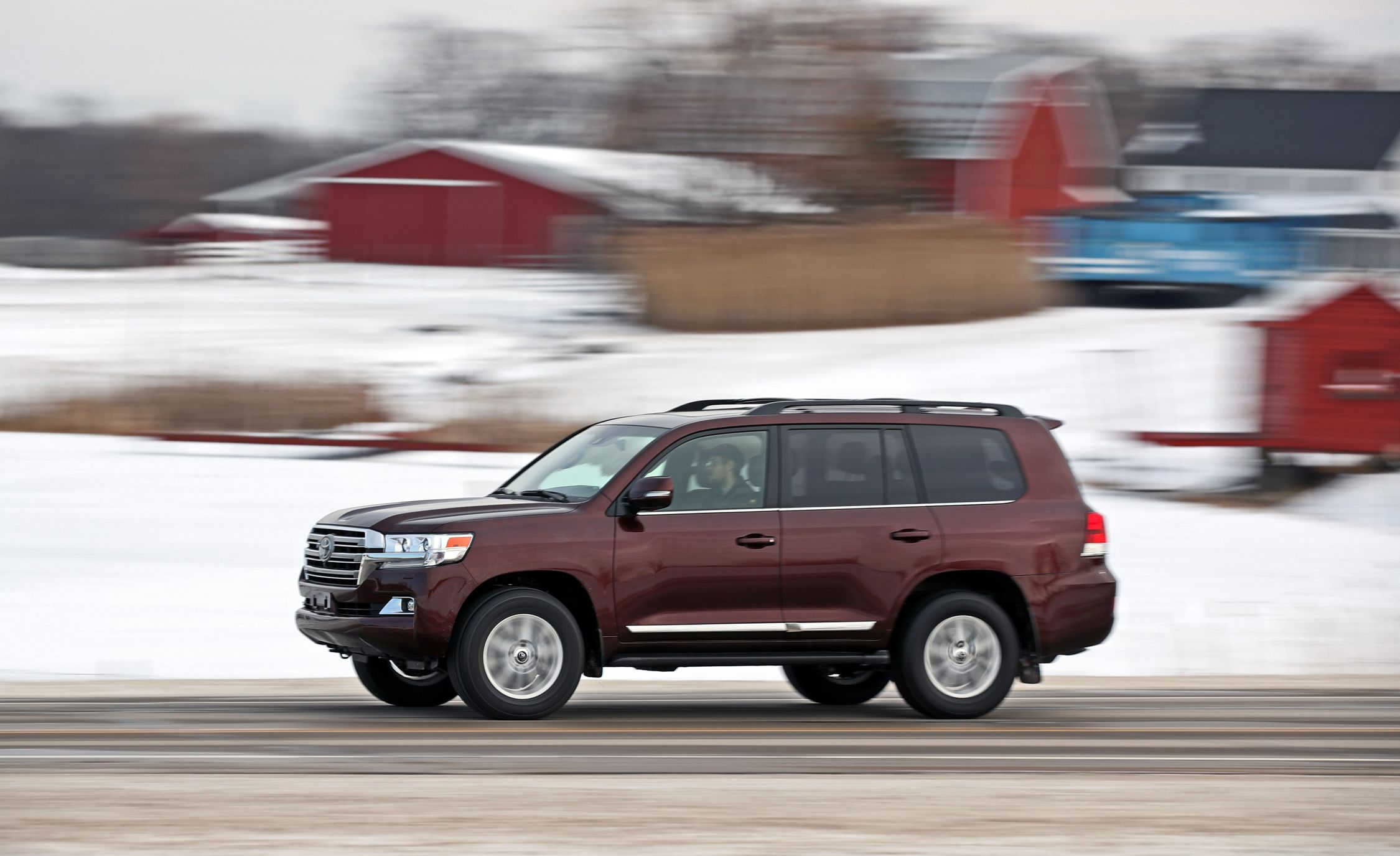 2020 Toyota Land Cruiser Reviews Price Photos And Specs Car Driver