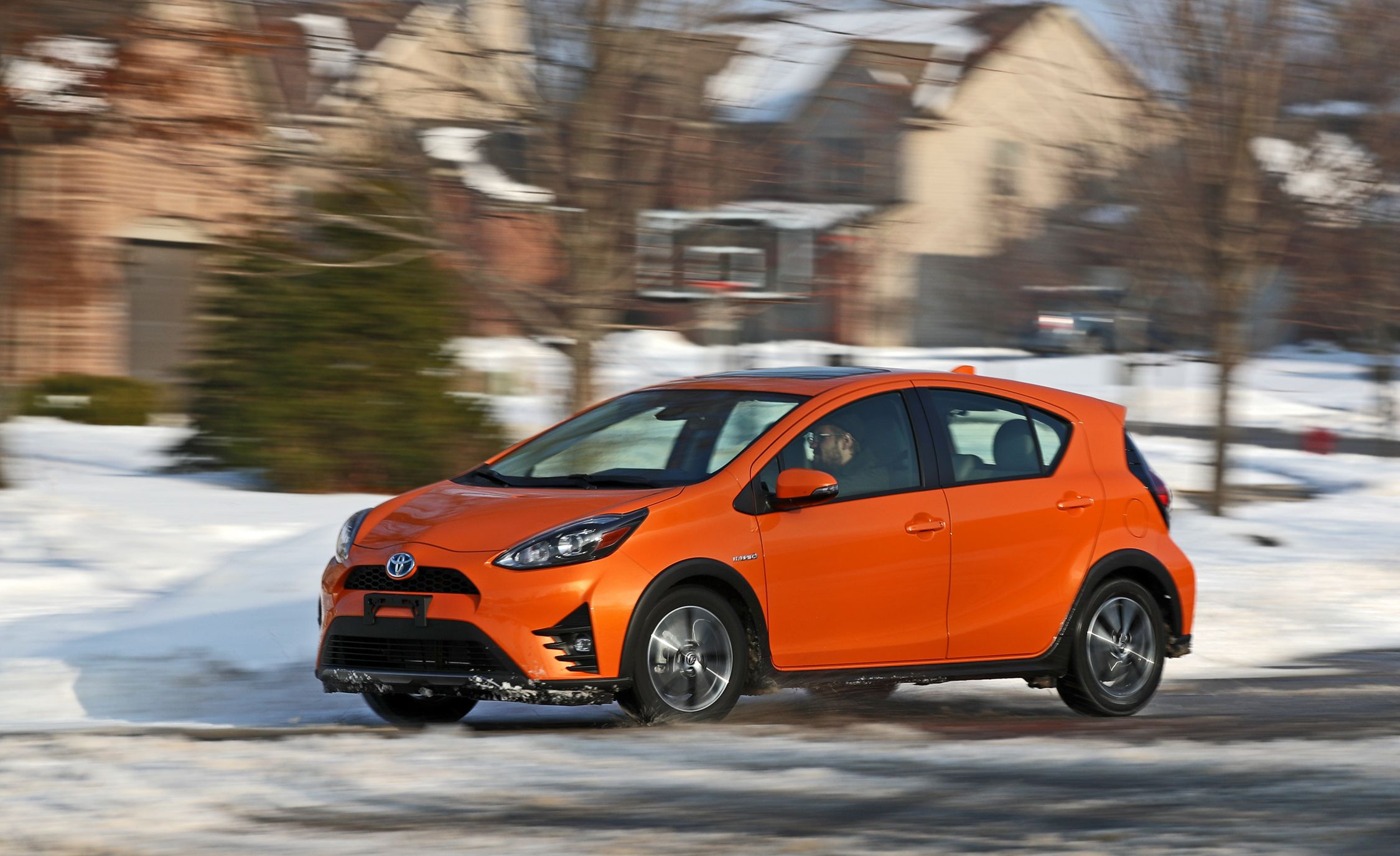 Toyota Prius C Reviews Price Photos And Specs Car Driver