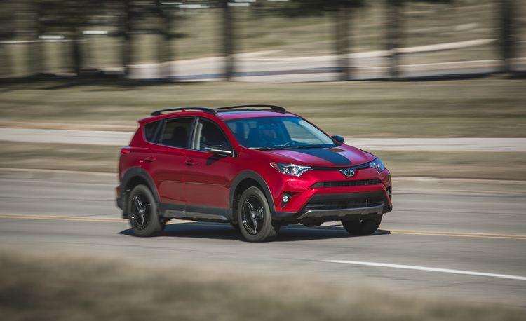 2018 Toyota RAV4 AWD  – Instrumented Test