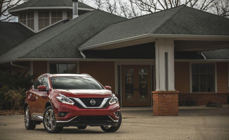 2018 Nissan Murano Platinum - Slide 15