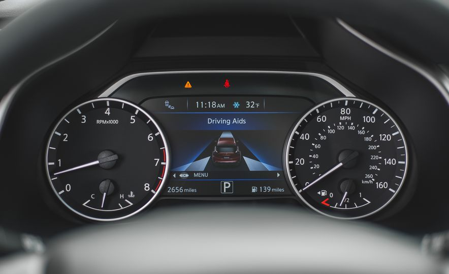 2018 Nissan Murano Platinum - Slide 44