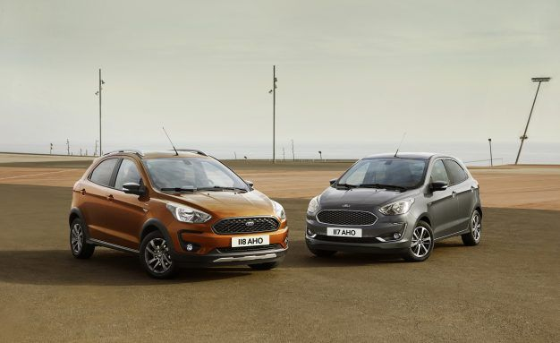 Ford Anticipates Ka+ Boom with Updated Powertrains, Crossover Design Cues