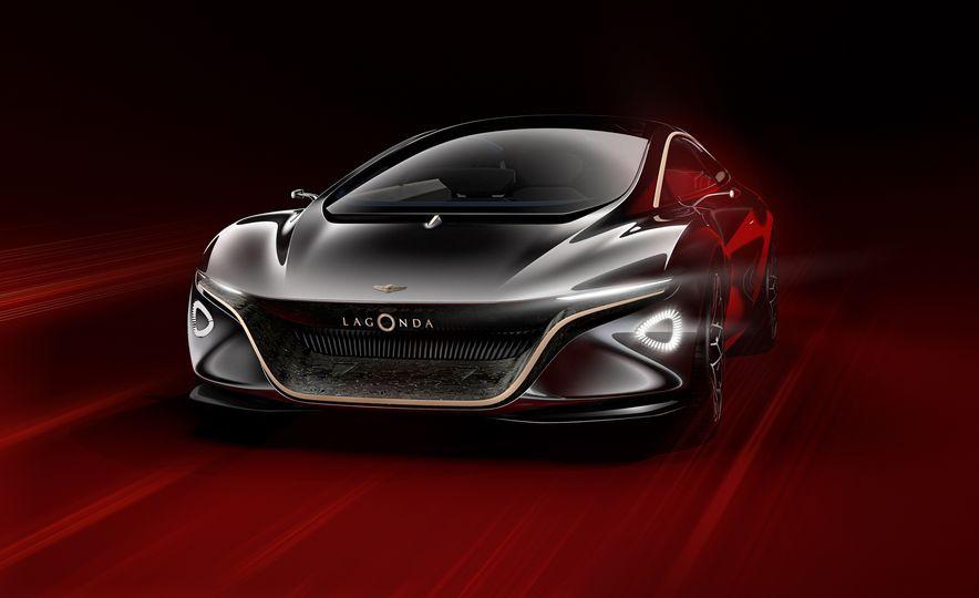 Aston Martin Lagonda Vision concept - Slide 1