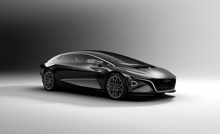 Revived and Electrified: Lagonda Vision Concept – Official Photos and Info