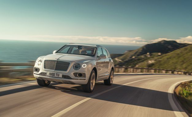 Electric Six! Bentley Downsizes with Plug-In Hybrid Bentayga