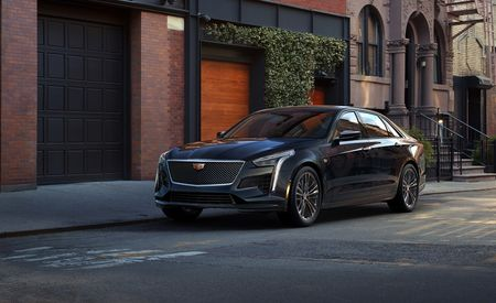 2019 Cadillac CT6 V-Sport Puts a V-8 Under the Hood – Official Photos and Info