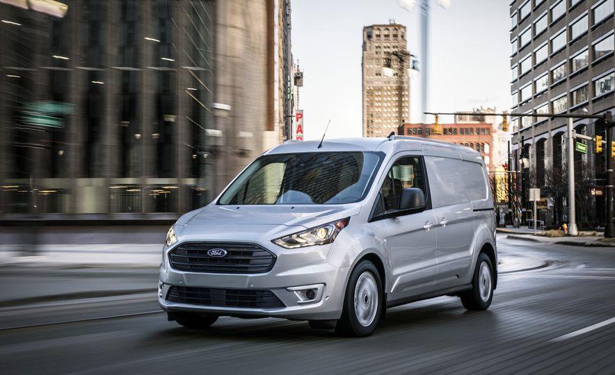 2019 Ford Transit Connect cargo van - Slide 1
