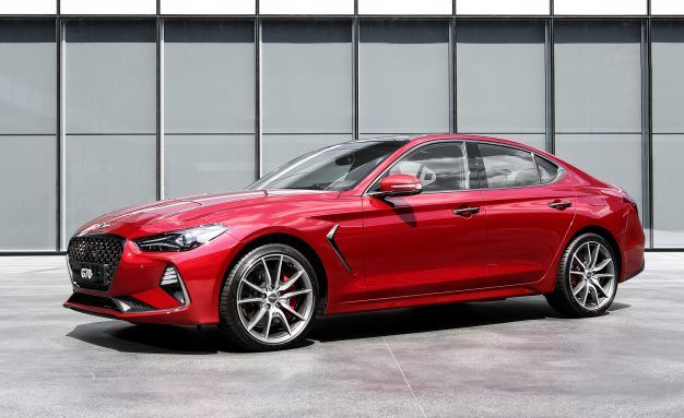 2019 Genesis G70 Will Have a Stick-Shift Option in Canada—What aboot the U.S., Eh?