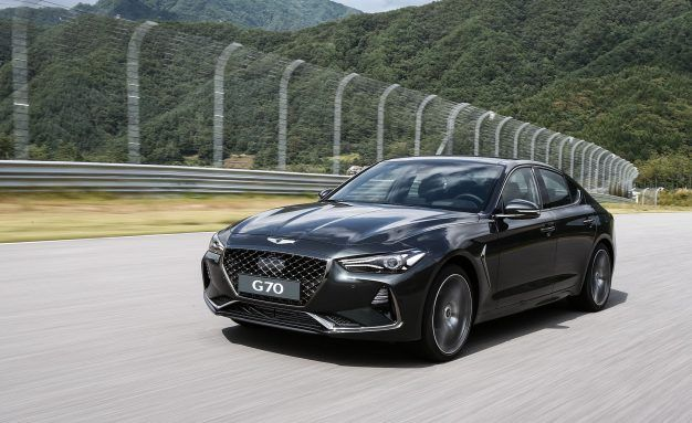 EPA Officially Confirms 2019 Genesis G70 Will Get a Six-Speed Manual in the U.S.