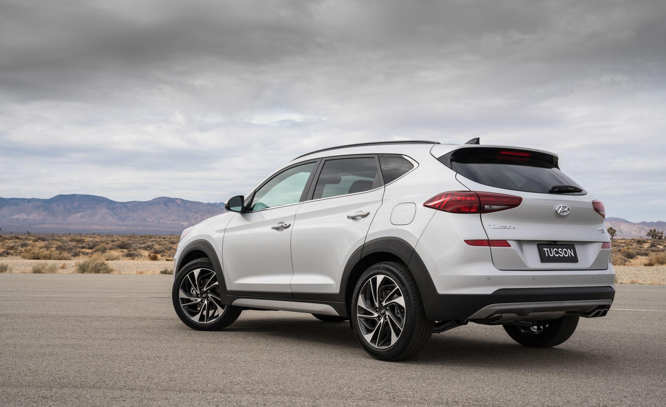 2019 Hyundai Tucson Reviews Price Photos And Specs Car Driver