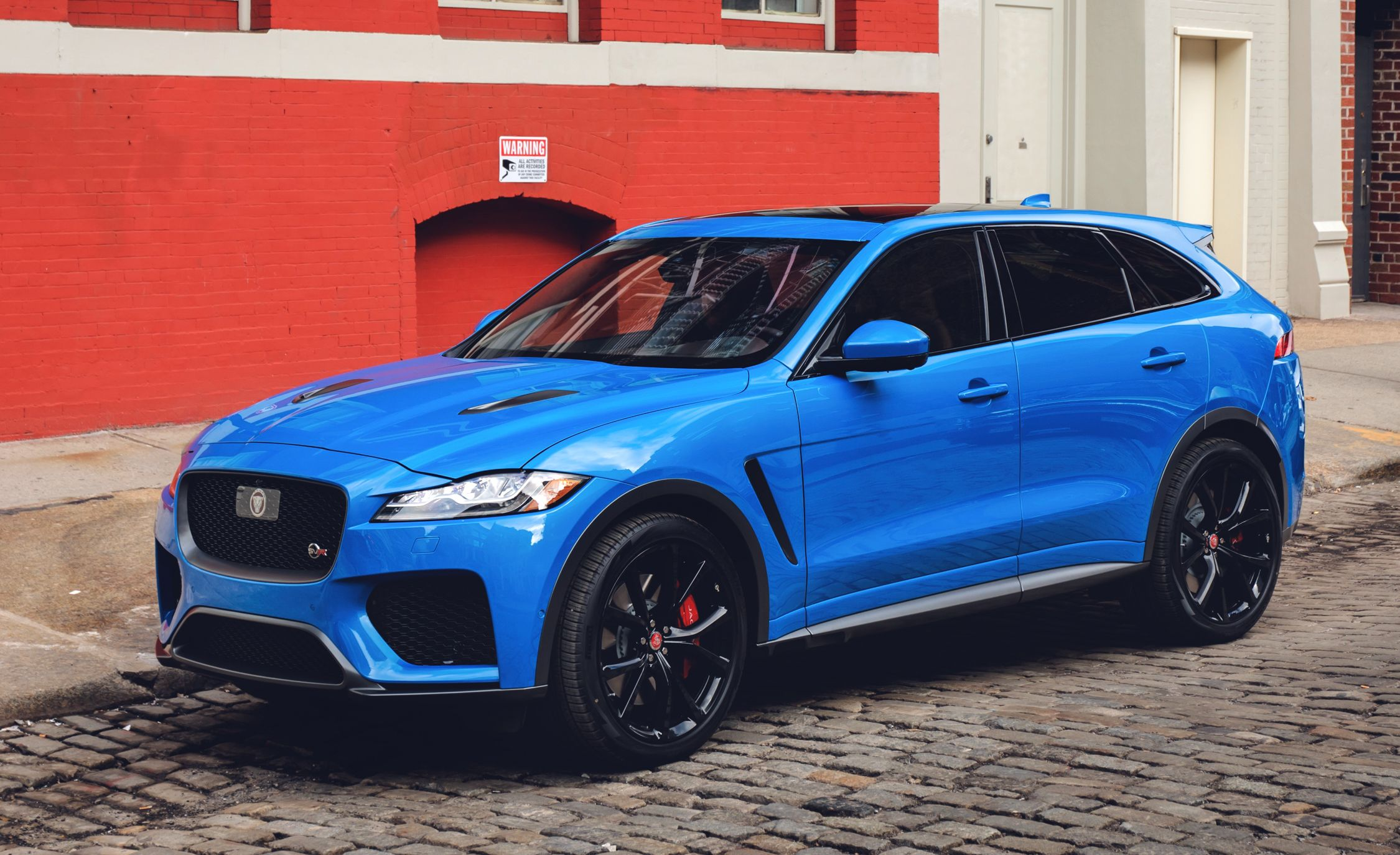 Jaguar F Pace Svr Reviews Price Photos And 2017 Suv Interior Specs Car Driver