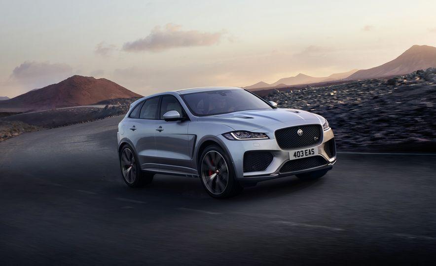 2019 Jaguar F-Pace SVR - Slide 1