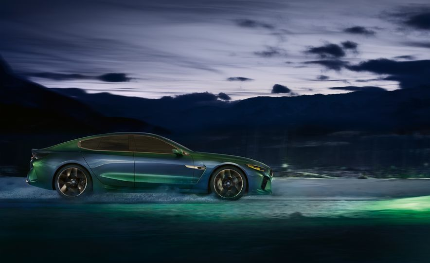 BMW M8 Gran Coupe concept - Slide 9