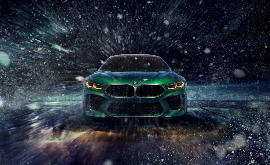 BMW M8 Gran Coupe concept - Slide 10