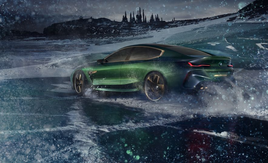 BMW M8 Gran Coupe concept - Slide 11