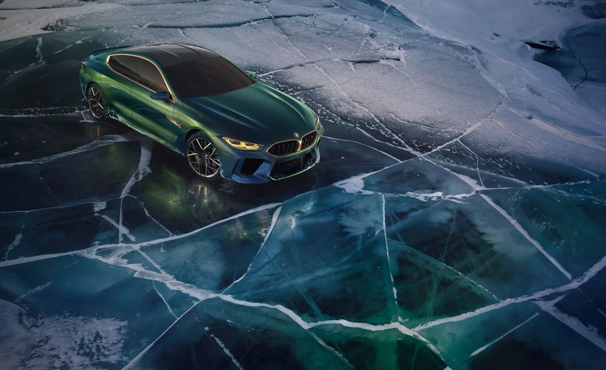BMW M8 Gran Coupe concept - Slide 12