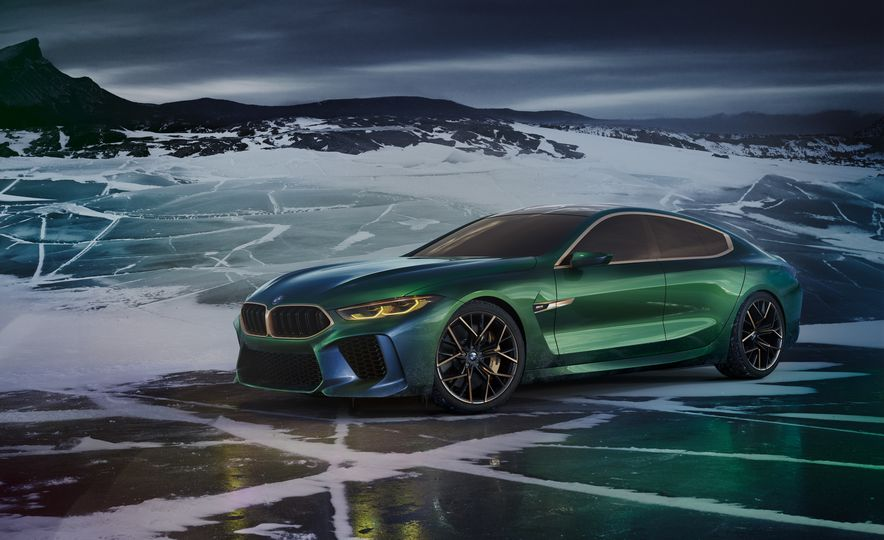 BMW M8 Gran Coupe concept - Slide 13