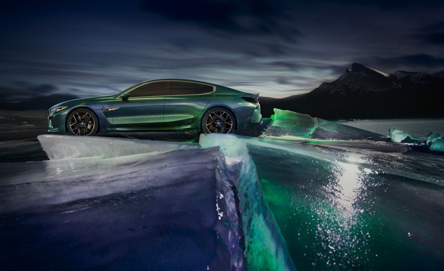 BMW M8 Gran Coupe concept - Slide 14